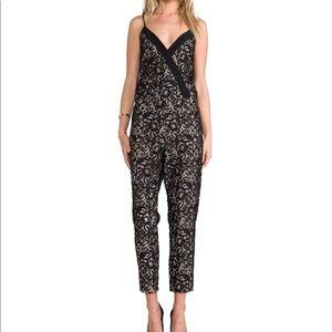 Parker Black lace Jumpsuit